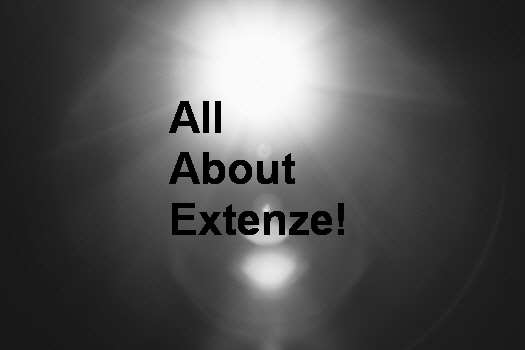 Extenze Natural Supplement