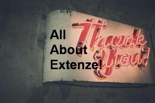 Anyone Use Extenze