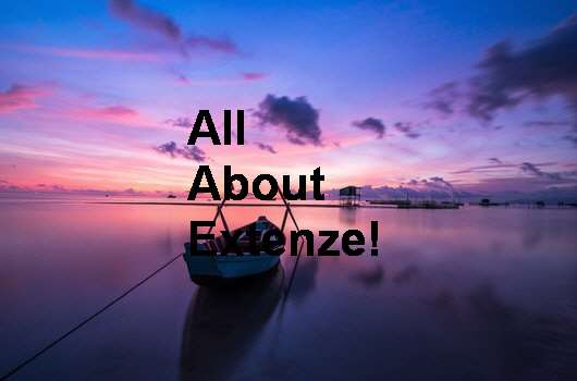 Extenze Suggested Use