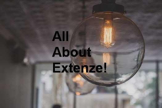 Taking 3 Extenze