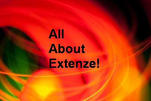 Extenze Dosage Instructions
