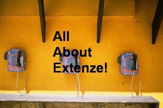 Extenze The Male Enhancement Formula