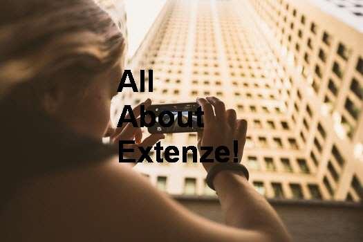 Extenze Supplement